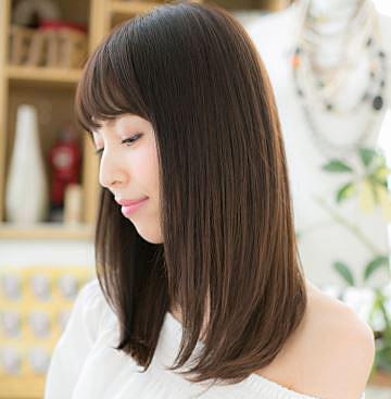 髪型 ストレート